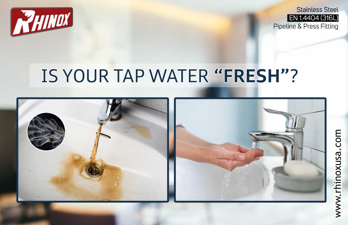 """Is your tap water """"fresh""""?"""